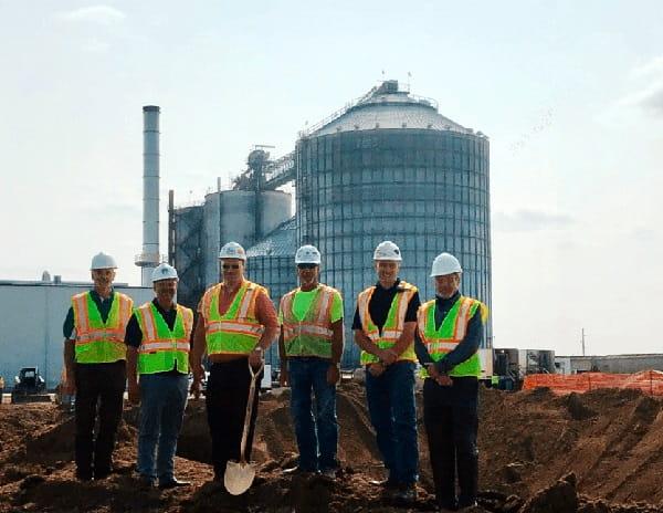 Construction -of-ethanol-plant