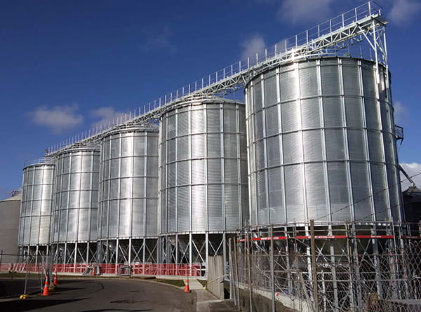 Hopper-steel-silo