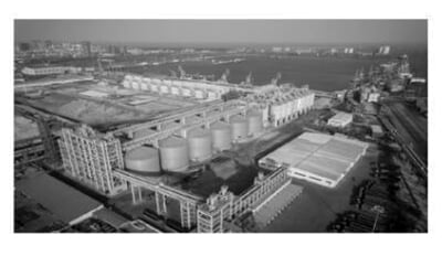 first-phase-bulk-grain-metal-silo-of-the-Rizhao-Port