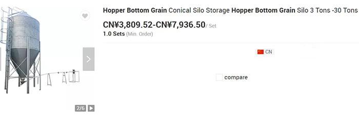 hopper-bottom-grain-bins-prices